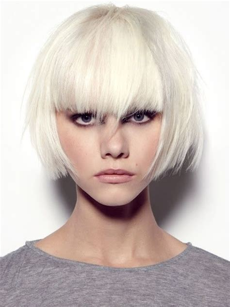 platinum blonde bob images short platinum blonde bob hair do s pinterest