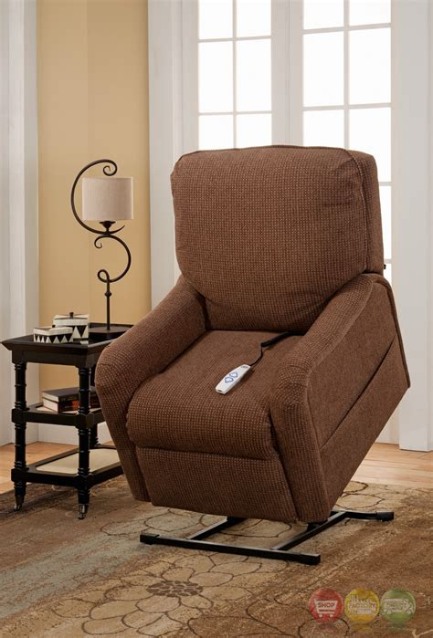 Wall Hugger Lift Chair by Essex Brown Wall Hugger Reclining Lift Chair With Usb Outlet