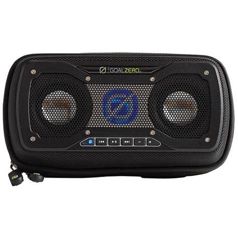 west marine rock goal zero rock out 2 solar rechargeable speaker black