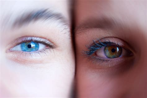 Imagenes Wallpapers De Ojos | dos ojos de colores hd 3216x2144 imagenes wallpapers