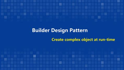 java 8 builder pattern create complex object at run time with builder pattern
