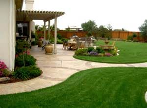 Landscaping Ideas Medium Sized Backyards Simple Backyard Ideas Landscaping Cheap Homelk