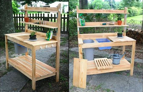 potting bench ideas potting bench ideas ken s wood projects gardens