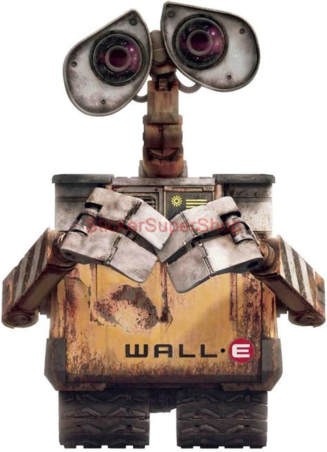 wall e sticker wall e disney decal removable wall sticker home decor walle walle ebay