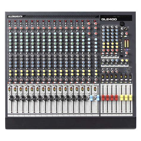 Mixer Audio Allen Heath allen heath gl2400 16 channel live sound mixer dv247