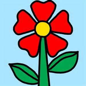 dibujos color flores color