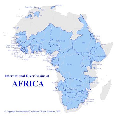 world river basin map drainage basins