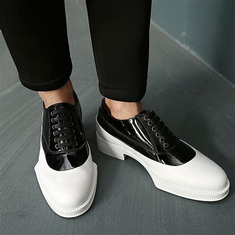 buy wholesale white dress leather sole shoes