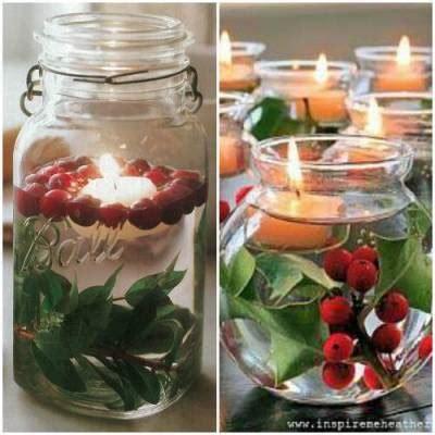 porta candele natalizie fai da te natale ricicloso 10 portacandele fai da te ethicme