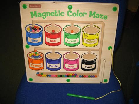 magnetic color maze library store thousands of toys at your fingertips