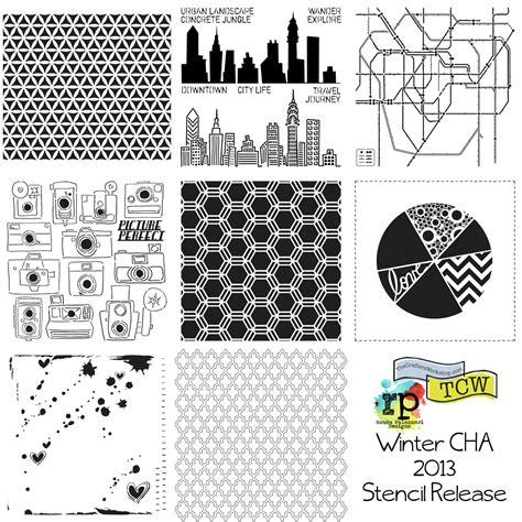 Wholesale Distributors Home Decor Ronda Palazzari Designs Tcw Stencil Release 2013 The