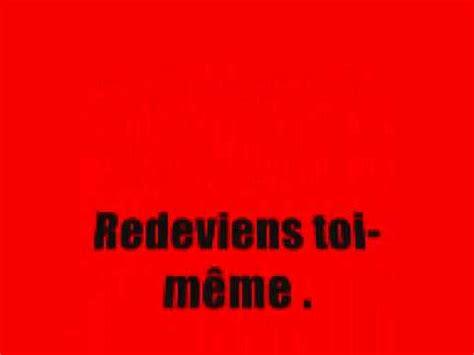 Meme Si Lyrics - jena lee redeviens toi m 234 me paroles lyrics youtube