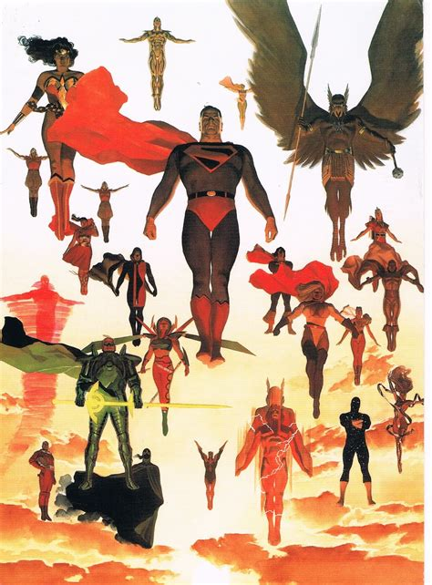 kingdom come 20th anniversary the signal watch 20th anniversary of dc comics quot kingdom come quot