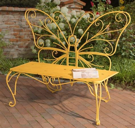 Iron Garden Decor Butterfly Bench Made Of Iron Fresh Garden Decor