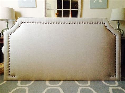 Rubbed Bronze Headboard by King Curved Corner Upholstered Headboard Wheat Linen Lrg