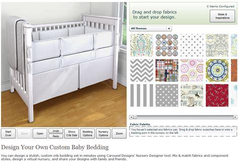 designer nursery bedding carousel designs custom baby bedding designer