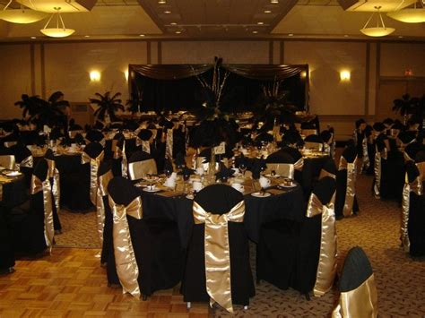party themes black and gold 50 years of service party black gold themed on pinterest