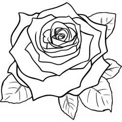 line drawing of a rose free download clip art free