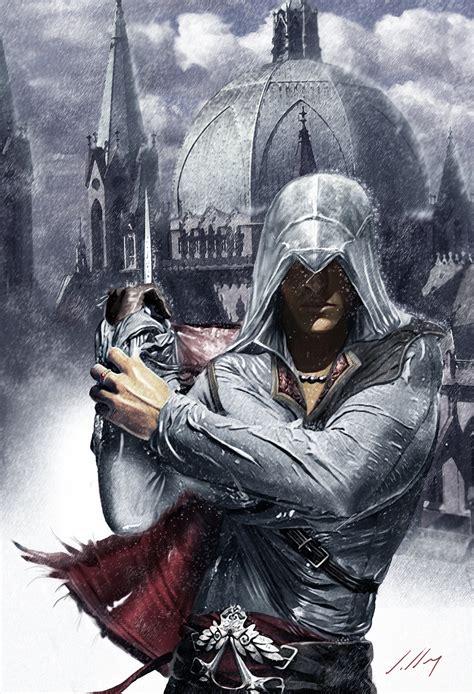 Assasins Creed Ezio Black Suit Premium Hardcase For Samsung S7 Edge assassins creed sao paulo cathedral by axlsalles on deviantart