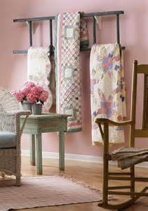 Eye for design decorate with quilts for cottage style interiors