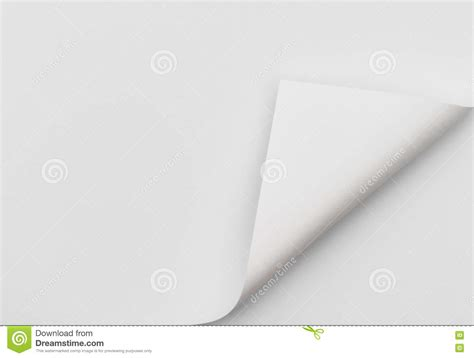 Paper Corner Fold - real paper corner fold stock photo image 70295479