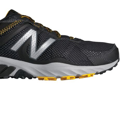 new balance sport shoe new balance mt610v5 mens black trail running sports shoes