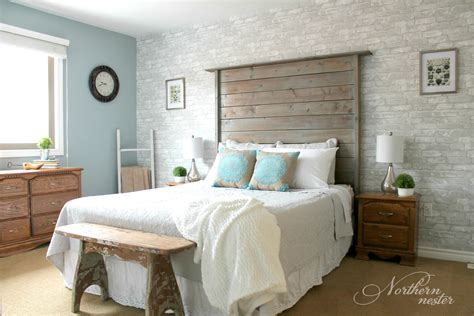 how to redo a small bedroom neutral farmhouse master bedroom makeover before after