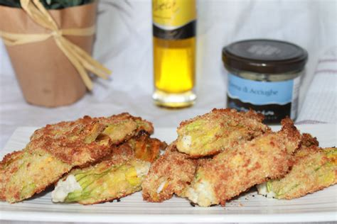 ricette fiori di zucchina ricetta fiori di zucchina con crema d acciughe