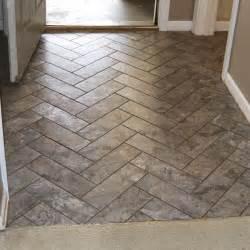 Designers Image Luxury Vinyl Plank - diy herringbone peel n stick tile floor grace gumption