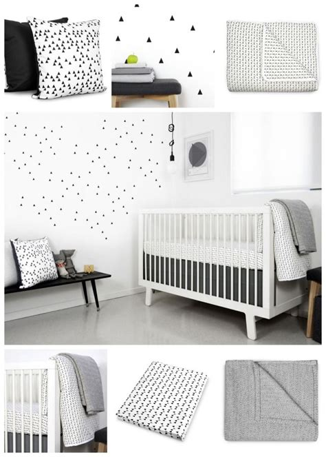 White And Black Crib by More Than 40 Ideas For The Coolest Black And White Nursery