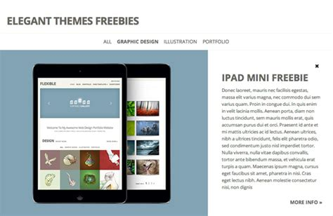wordpress layout ipad theme wordpress ipad