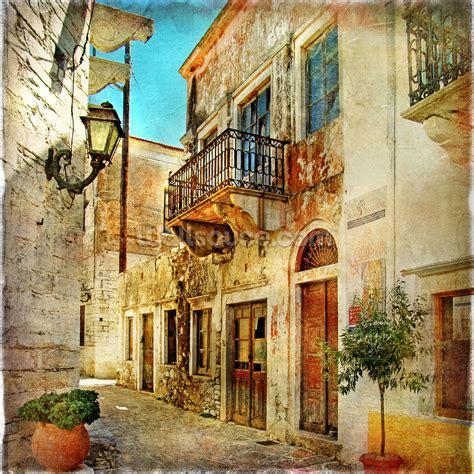 Wall Murals Greece Town Greece Wallpaper Wall Mural Wallsauce Usa