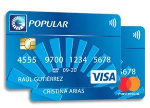 tarjeta visa banco popular banco popular tarjetas de credito numero telefono
