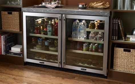 glass door wine beverage center 24 quot marvel glass door refrigerator beverage center