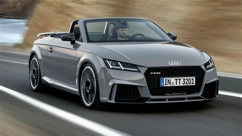 2017 audi tt rs roadster interior exterior and drive