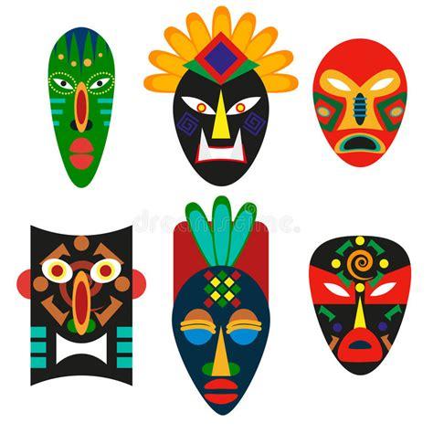Masker Cultusia traditioneel masker afrikaanse stammen godsdienstig masker medicijnmannen of voodoo oude