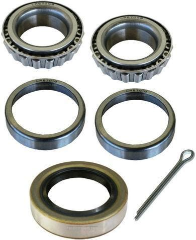 boat trailer wheel bearings and seals trailer bearing kit 1 1 4 quot spindle lm67048 inner outer