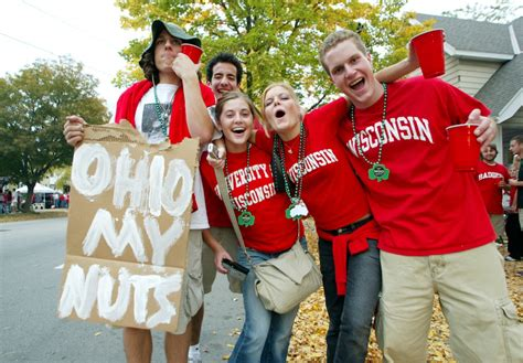 university of wisconsin fan shop college football the 10 best tailgates in the country