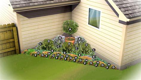 Southern California Gardening Corner Garden Plan Corner Garden Design