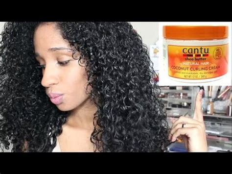 curl activator cantu on short hair men wash quot n quot go coconut curling cream i cantu series youtube