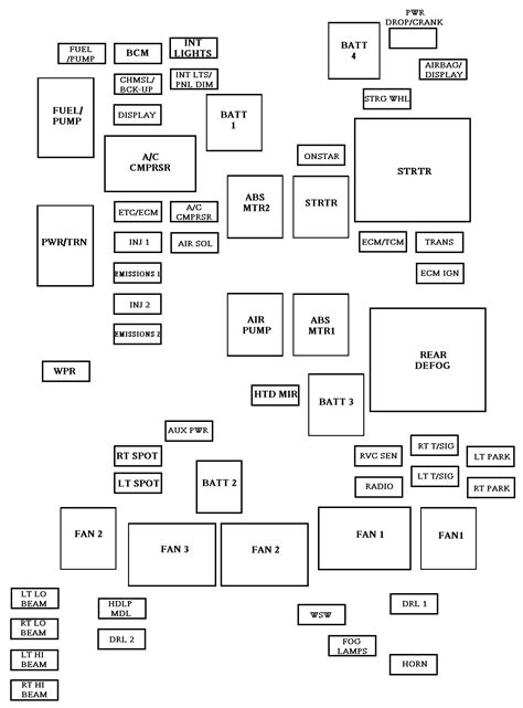 2012 chevy impala radio wiring diagram
