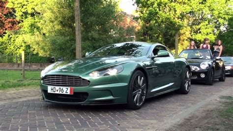 Aston Martin DBS Sound!! Revs   Acceleration!   1080p HD   YouTube
