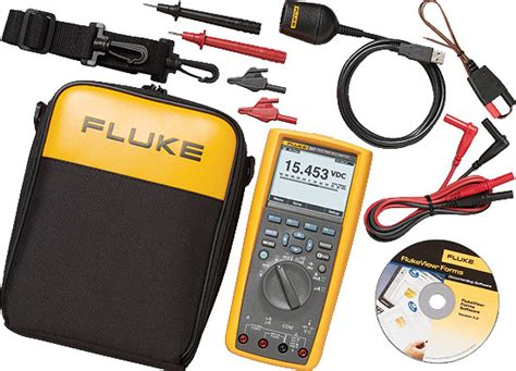 Multimeter Fluke 287 fluke 287 fvf digital logging multimeter with flukeview forms software
