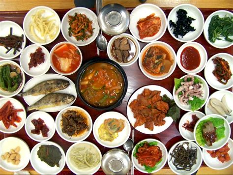 korean dishes 30 korean side dishes on the table maangchi