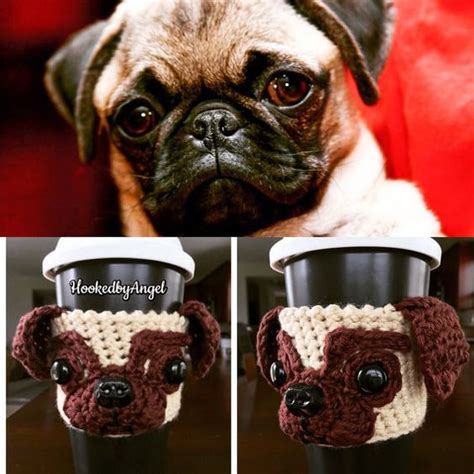 pug cozy sleeve and pets on