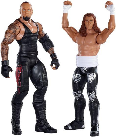 Minifig World Entertainment The Rock Undertaker battle pack shawn undertaker