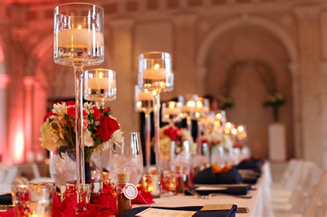 candles for centerpieces for wedding receptions reception venue glass candle wedding centerpiece onewed