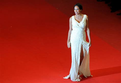 Runway To Carpet Rosario Dawsons Cannes Gown by Or Hmm Rosario Dawson S As I Lay Dying Cannes