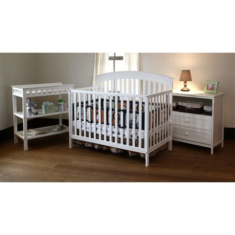 Cribs And Changing Tables Sets Summer Infant Fairfield Crib Changing Table And Dresser 3 Pc Set White By Summer Infant