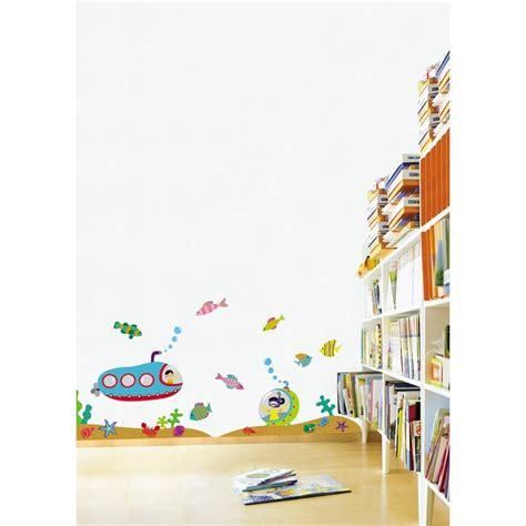chambre enfant marin stickers sous marin chambre enfant pas cher stickers